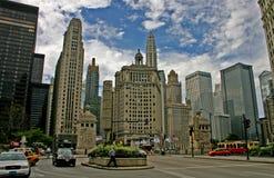 繁忙的街市街道 免版税库存照片
