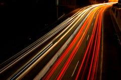繁忙的通勤者高速公路 免版税库存图片