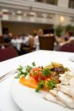 繁忙的餐馆 免版税库存照片