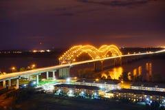 繁忙的高速公路在孟菲斯 免版税库存照片