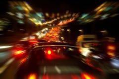 繁忙的高速公路 库存图片