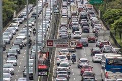 繁忙运输 免版税库存图片