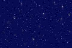繁星之夜 免版税库存图片