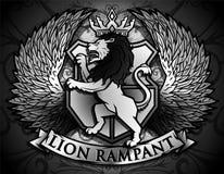 繁茂的狮子 皇族释放例证