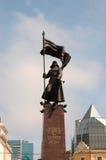 红军纪念碑 免版税库存照片