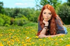 红发 库存图片
