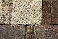 红土带墙壁、路面和结构 图库摄影