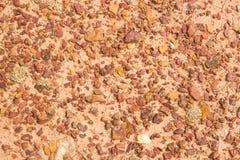 红土结构与岩石的 免版税库存图片