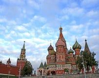 红场在莫斯科 库存图片