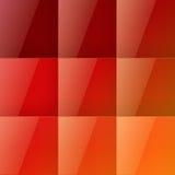 红场抽象背景 免版税库存图片