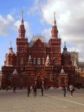 红场的看法在莫斯科 图库摄影