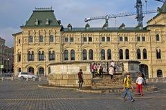 红场的Lobnoye梅斯托在莫斯科,俄罗斯 免版税库存照片