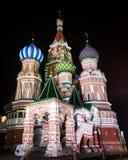 红场莫斯科大教堂 库存图片