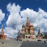 红场,莫斯科,俄国联邦城市,俄罗斯联邦,俄罗斯 免版税库存图片
