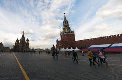 红场,莫斯科,俄国联邦城市,俄罗斯联邦,俄罗斯 免版税库存照片