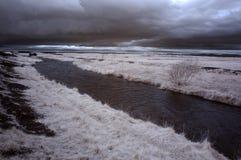 红外河 库存照片