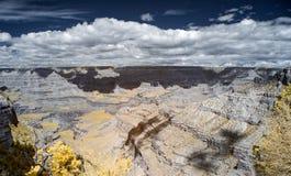 红外线的大峡谷国家公园 免版税库存照片