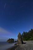 红宝石海滩星形线索 免版税库存照片