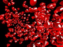 红宝石 免版税库存图片