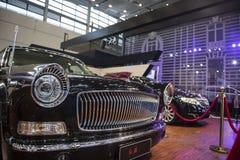 红旗轿车前面部分 免版税库存图片