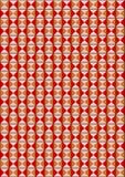 红木色的三角背景  免版税图库摄影