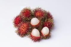 红毛丹果子 免版税库存图片