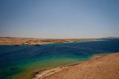 红海海岸 库存照片