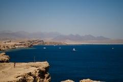 红海海岸 免版税库存图片