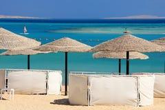 红海海滩 库存图片
