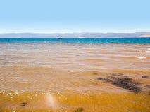 红海的岸 图库摄影