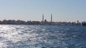从红海的岸 免版税图库摄影