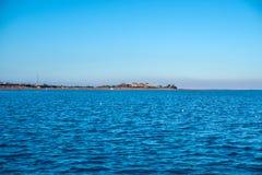 红海的海岸在Sharm El谢赫 库存照片