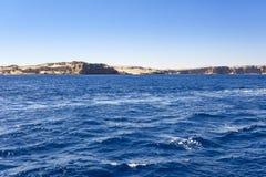 红海的看法 图库摄影