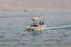 红海的美丽的景色 库存图片