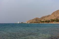 红海以色列 免版税图库摄影