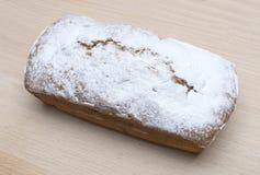 红润长方形蛋糕 图库摄影