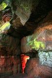 红砂岩峡谷 库存照片