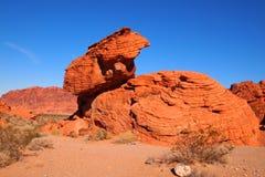 红砂岩形象 免版税库存图片