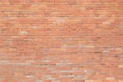 红砖与白色杂质的墙壁背景  免版税图库摄影