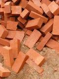 红砖堆  免版税图库摄影
