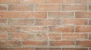 红砖墙壁、无缝的块样式,纹理背景或者墙纸用途 免版税库存照片
