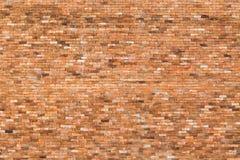 红砖墙壁小纹理背景 图库摄影