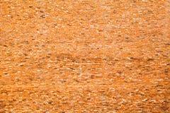 红砖墙壁小纹理背景 库存照片