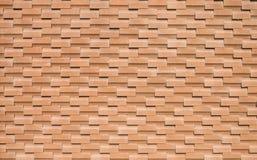 红砖墙壁无缝的背景 免版税库存图片