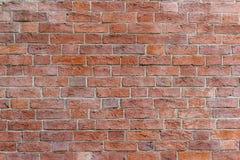 红砖墙壁样式纹理背景 图库摄影