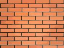 红砖墙壁的传染媒介例证 向量例证