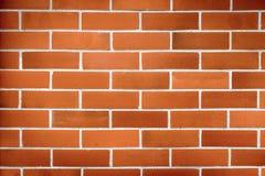 红砖墙壁纹理难看的东西背景 免版税库存图片