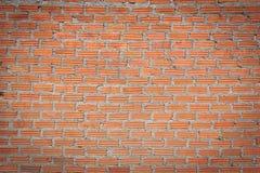 红砖墙壁纹理 库存图片