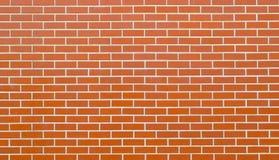 红砖墙壁背景或纹理 图库摄影