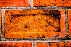 红砖墙壁背景,纹理 免版税库存图片